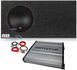 "MTX 5512-22 12"" 800w Subwoofer+Vented Sub Box Enclosure+Mono"