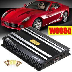 5800 Watts Car Amplifier Stereo Audio Super Bass Subwoofer P