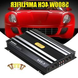 5800W 4 Channel Car Amplifier Stereo Audio Super Bass Subwoo