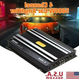 5800W Watt 4 Channel DC 12V Car Amplifier Stereo Power Amp F