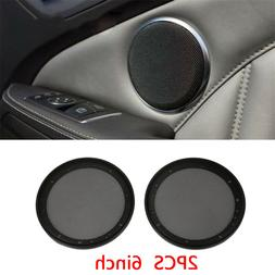 6 Inch Car Speaker Cover Interior Moulding 2 Pcs Grill Round