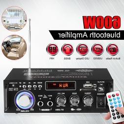 600W 110V/12V bluetooth Subwoofer Amplifier Car Home HIFI 2C