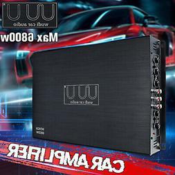 6800W 4 Channel Car Power Amplifier Class A/B Stereo Audio B