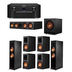 Klipsch 7.1 System with 2 RP-8000F Floorstanding Speakers, 1
