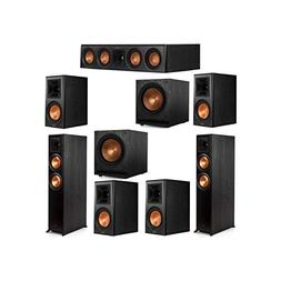 Klipsch 7.2 System with 2 RP-6000F Floorstanding Speakers, 1