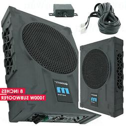 8 1000w car audio under seat super