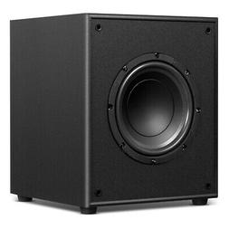 "8"" 200W Powered Active Theater Music Subwoofer W/Front-Firin"