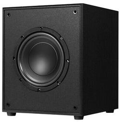 8-in 200W Powered Active Subwoofer W/Front-Firing Woofer HD