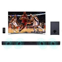 90W Powerful TV Sound Bar Home Theater Soundbar with Subwoof