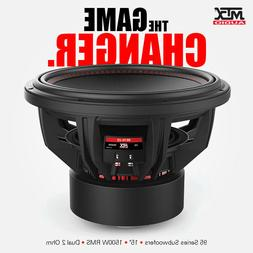 MTX 95 SERIES 9515-22 15 INCH SUBWOOFER 1500W RMS Dual 2Ω