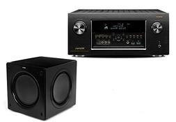 Denon AVR-X7200WA 9.2 Channel AV Receiver with Klipsch SW-31