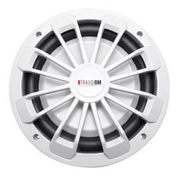 "Mb Quart - 10"" Single-voice-coil 4-ohm Subwoofer - Gray"