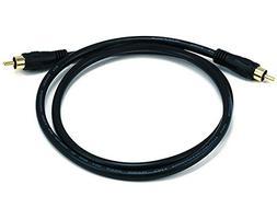 Monoprice102743 75 Ohm Digital  Coaxial Audio/Video RCA Cabl