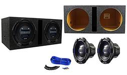 """Package:  Hifonics BRX12D4 Brutus 12"""" Dual 4-Ohm 900 Watts P"""