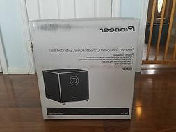 "Pioneer - 10"" 200w Powered Subwoofer - Black"
