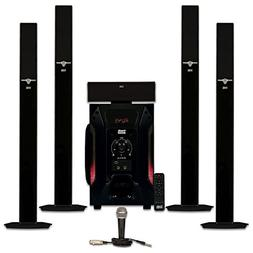 "Acoustic Audio PSW-15 Home Theater Powered 15/"" Subwoofer 600 Watts Surround"