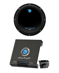 "PLANET AUDIO AC12D 12"" 1800W Car Audio Subwoofer + AC15001M"