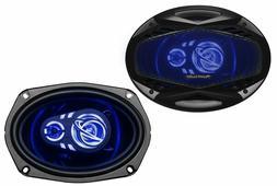 "Planet Audio AC693 Full Range 6"" x 9"" 3-Way Speaker Pair"