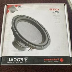 "Focal Access 30a4 12"" Subwoofer 4-Ohm 250 Watts RMS"