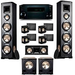 BIC Acoustech 7.2 PL-980 Home Theater System with Onkyo TX-R