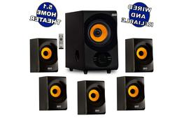 Acoustic Audio - AA5170 Home Theater 5.1 Bluetooth Speaker S