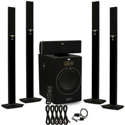 Acoustic Audio AAT2003 Bluetooth 5.1 Speaker System Optical
