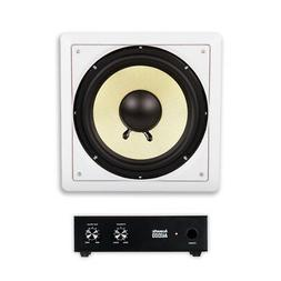 Acoustic Audio HD-S10 In Wall 10 Home Theater Passive Subwoo
