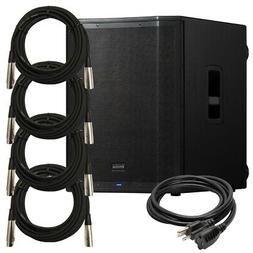 PreSonus AIR18s Powered PA Subwoofer CABLE KIT