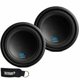 """Alpine Subwoofer Package - Two S-W12D4 S-Series 12"""" Dual 4-O"""
