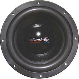 American Bass Xr12D4 2400 Watt 12 Inch Dual 4 Ohm Subwoofer