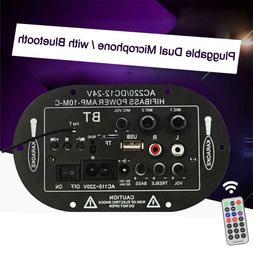 AMP Digital Bass Amplifier Power Board Bluetooth Subwoofer H