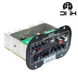 Amplificador USB High Power Subwoofer Amplifier Board USB Re