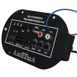 Amplifier Board Audio FM Radio TF Player Subwoofer Car For 8