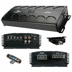 1500 W Amplifier Class D Amp Car Audio Bass Knob Fuse Audiop
