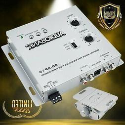 Audiobank AP15 Digital Bass Processor, Crossover For Car Sub