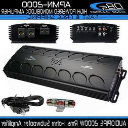 AUDIOPIPE APMN-2000 Monoblock Subwoofer Amplifier 2000W Rms