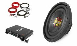 Boss Audio 12 Inch 1000W Subwoofer + Shallow Enclosure + Amp