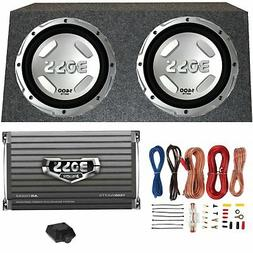 "BOSS AUDIO CX122 12"" 1400W Car Power Subwoofers Sub+Mono Amp"