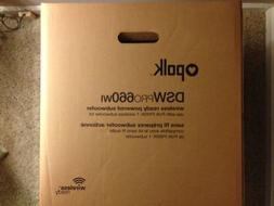 Polk Audio DSW PRO 660wi 12 inch Wireless Ready Powered Subw