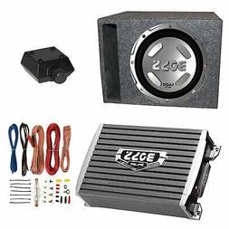 """Boss Audio 12"""" 1400W Subwoofer + 1500W Amplifier w Amp Kit +"""