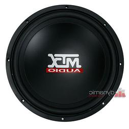 "MTX Audio TN12-04 Car 12"" Terminator Series Single 4 ohm Sub"