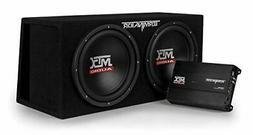 "MTX Audio TNP212DV Dual 12"" Subwoofer Vented Enclosure with"