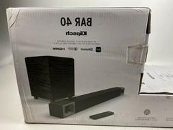 Klipsch BAR 40 2.1 Sound Bar with Wireless Subwoofer