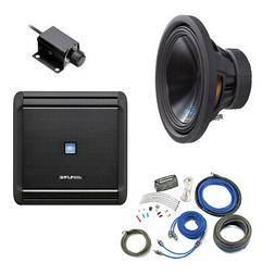 "Alpine Bass Package - Type-S 12"" Subwoofer, MRV-M500 500 wat"