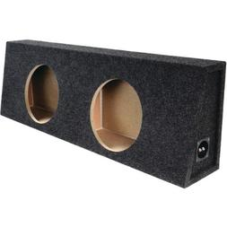 "Bbox E12DT Dual 12"" Sealed Carpeted Truck Subwoofer Enclosur"