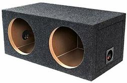 "BBox E10D Dual 10"" Sealed Carpeted Subwoofer Enclosure"