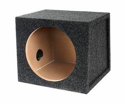 "BBox E10S Single 10"" Sealed Carpeted Subwoofer Enclosure"