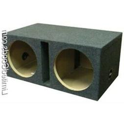 "Bbox E12DSV Dual 12"" Shared Vented Carpeted Subwoofer Enclos"