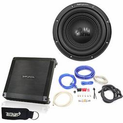 Alpine BBX-T600 Amp and W12S4 10-inch Single 4 Ohm Subwoofer