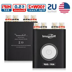 Bluetooth DSP Mini Power Amplifier HiFi Home Stereo Audio He